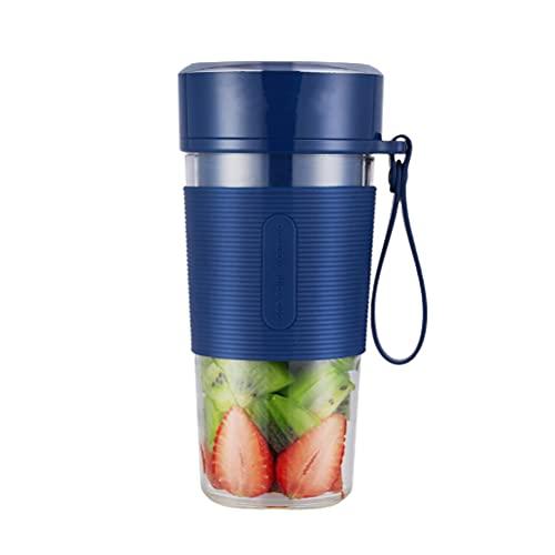 Mezclador portátil eléctrico USB Juicer mezclador portátil Juicer Cup Botella de agua Juicer Handheld Fruit Machine para batidos y batidos de bricolaje