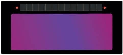 ArcOne S240-10 Horizontal Single Auto-Darkening Filter for Welding, 2 x 4