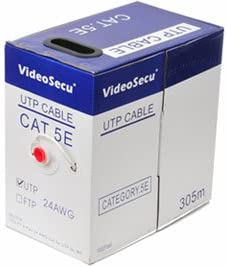VideoSecu 1000ft CAT5e Cable Challenge the lowest price of Japan 4 Pair 24 WT Listed UTP AWG Pure UL Direct store