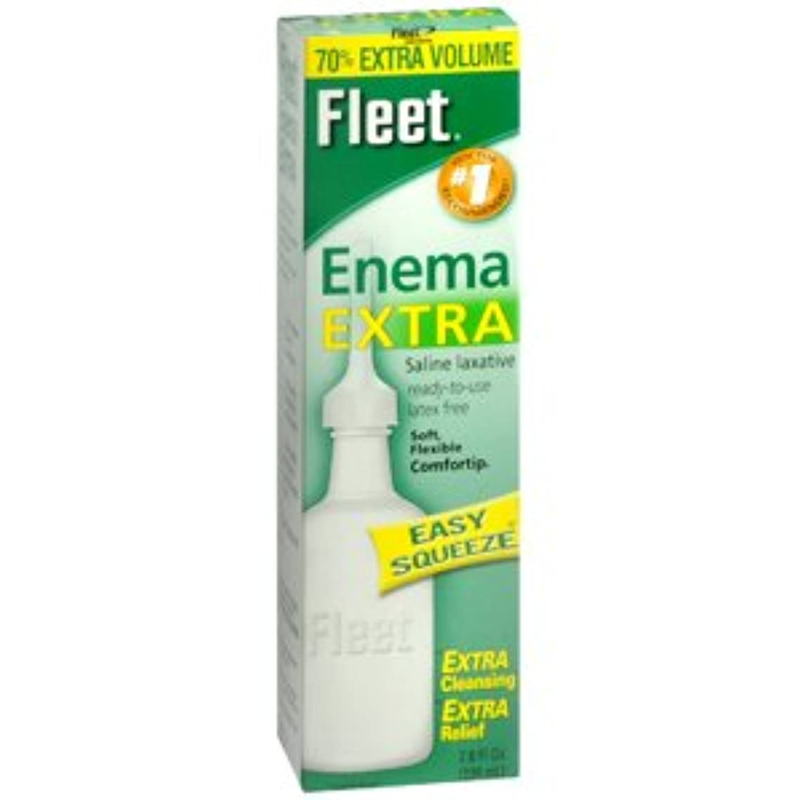 Special pack of 6 Fleet Enema, Ready-to-Use Saline Laxative 7.8 fl oz (230 ml)