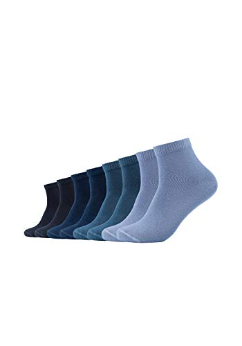 s.Oliver Socks Herren S21009 Sneakersocken, Blau (navy 4), (Herstellergröße: 43/46)