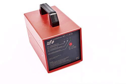 Mobiles fritec Ladebox Set zum Laden ohne Stromanschluss inkl. 12 V-Ladegerät – zum Aufladen von 12 V-Fahrzeug-Batterien ortsunabhängig und ohne Steckdose BV11915-SET800