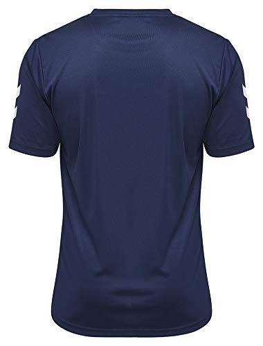 hummel Camiseta Core de poliéster para Hombre, Hombre, Camiseta, 003756-7026, Marine, Small