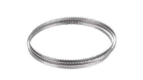 Pieza Sustitución Sierra de cinta Hojas Para POWX180B 1425mm x 9.53mm 6TPI para Powerplus Band sierra POWX180