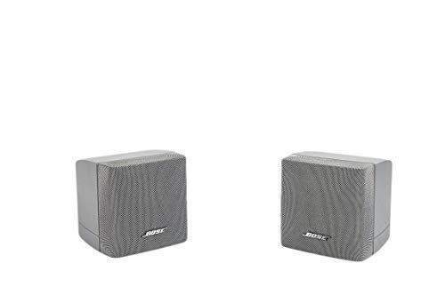 2X Bose Acoustimass Series III Einzelcubes Lautsprecher Silber