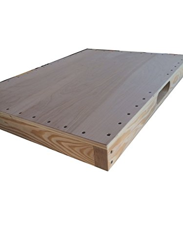 ASPS Dance Board Professional for Clogging Tap Flat Footing w/Handle 3 x 24 x 32 in.(Exterior Grade)