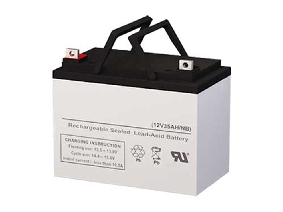 Genuine SigmasTek 12 Volt 35 AmpH SLA Battery with NB Terminals