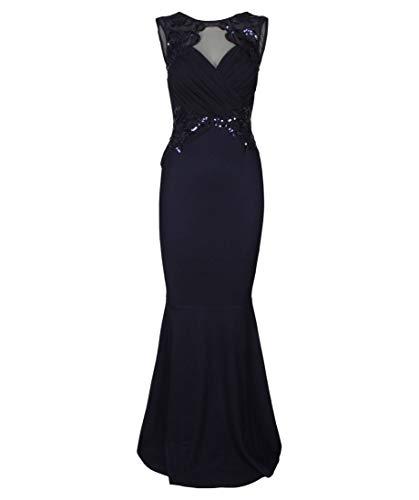 Lipsy London Damen Abendkleid Marine (52) 44