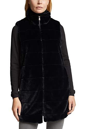 ESPRIT Collection Damen 100EO1H301 Jacke, 001/BLACK, XS