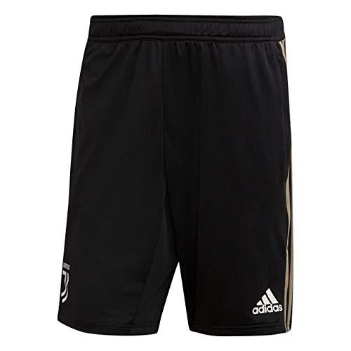 adidas Juve TR, Pantaloncini Sportivi Uomo, Nero/Clay, S