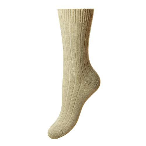 Natürliche Tabitha Kaschmir Socken von Pantherella