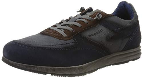 bugatti Herren 333213041414 Sneaker, Blau, 45 EU