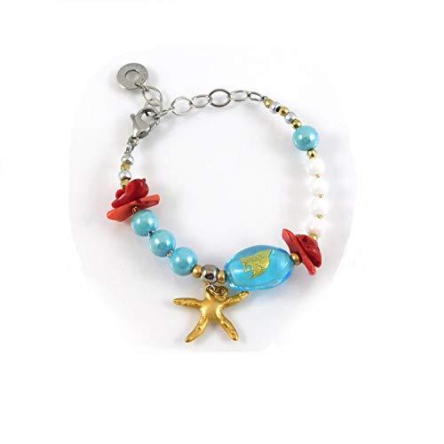 Antica Murrina Bracelet Atlantide Light Blue
