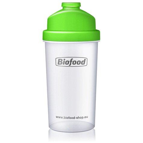 Biofood Profi Shaker, 700ml, Ideal zum Anmischen von Protein-Shakes. Mit seitlicher Skala, Siebeinsatz und praktischem Schraubdeckel.