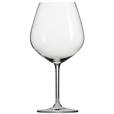Schott Zwiesel Tritan Crystal Glass Forte Stemware Collection Burgundy/Beaujolais Red Wine Glass, 18.3-Ounce, Set of 6