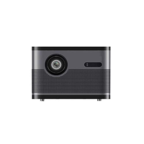 Proyector De PelíCulas para Uso En Exteriores, PequeñO Proyector Inteligente De TV, ProyeccióN WiFi InaláMbrica, ProyeccióN En El Aula En LíNea 1080p Compatible con TV Sin Pantalla 4k, Negro