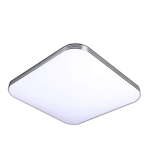 ZHMA 36W Ultra sottile LED Bianco Freddo plafoniera moderno lampada da soffitto per soggiorno, cucina, camera, bagno, hotel Super Luminoso Quadrato 300mm*300mm
