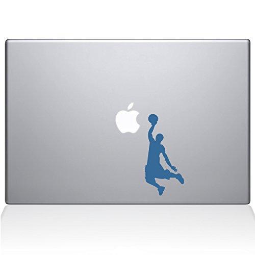 "Adesivo de vinil The Decal Guru Slam Dunk MacBook - MacBook de 12"" - Azul claro (1173-MAC-12M-LB)"