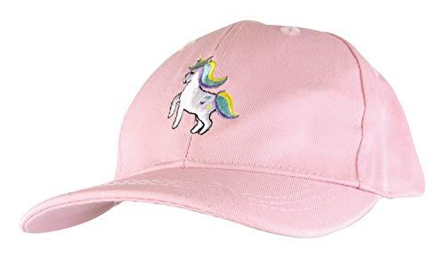 Mädchen/Kinder Einfarbig Einhorn Baseball Kappe Mütze von Tom Franks (Einheitsgröße, Rosa)