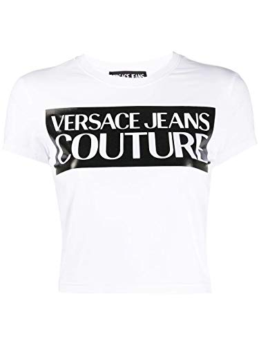 Versace Luxury Fashion Jeans Damen B2HVA7V630341L02 Weiss Baumwolle T-Shirt | Frühling Sommer 20