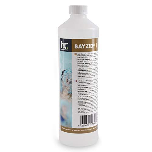 3 x 1 L Metall-Ex 60% für Pool - entfernt Metall - und Kalkablagerungen und senkt die Gesamthärte - für kristallklares Wasser
