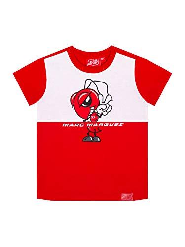 MM93 Tshirt Fourmi Cartoon Official MotoGP Child - White - 10/11 Anni