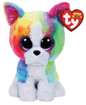 Ty Isla Bulldog Beanie Boo - Small 6' - Plus Bonus Sticker