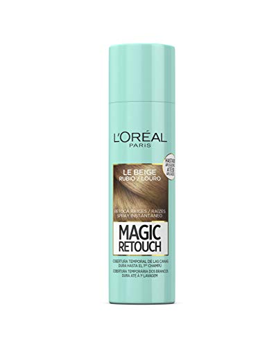 L'Oreal Paris Magic Retouch Spray Retoca Raíces y Canas Rubio - 150 ml