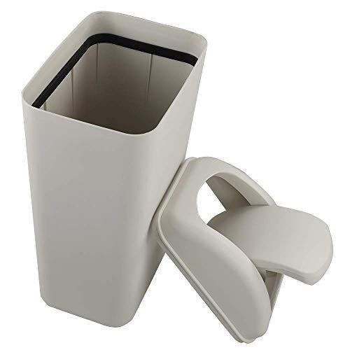 Tstorage 10 L Papelera Basurero Cubos Basura Cubo de Basura de Plástico...