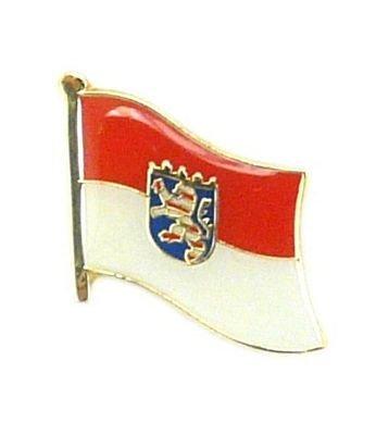 Flaggen Pin Hessen Pins Anstecknadel Fahne Flagge FLAGGENMAE®