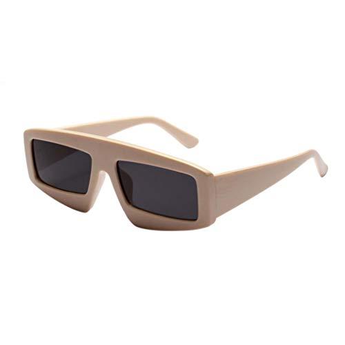 FRAUIT Vintage zonnebril voor dames, met grote box voor uniseks, rond frame, uv-bril, overtrekbril voor brildragers, voor dames en heren