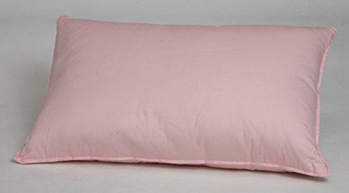 ふんわり やわらか 綿わた枕 43cm×63cm ピンク 綿わた100%