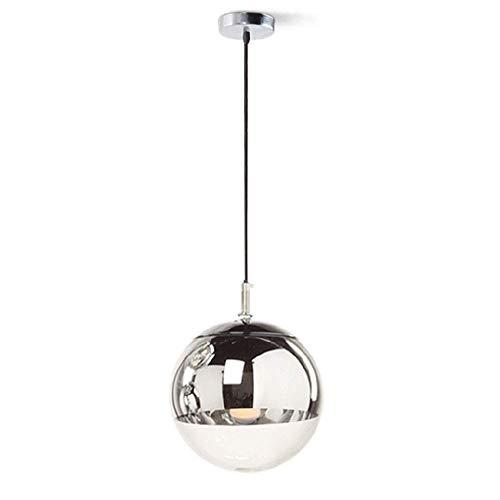 La personalidad de una sola cabeza restaurante Art Araña Moda Tienda de ropa del centro comercial Lámpara Lámpara E27 120 cm Cadena ajustable de la lámpara nórdica bola de cristal de la lámpara de cob