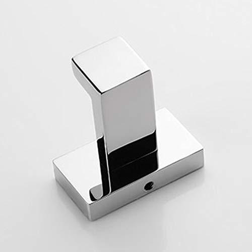 XFEOMBQ RVS kaphaak, aan de muur gemonteerde kapstok voor keuken badkamer, badhanddoek, jas, vierkante haak voor jas