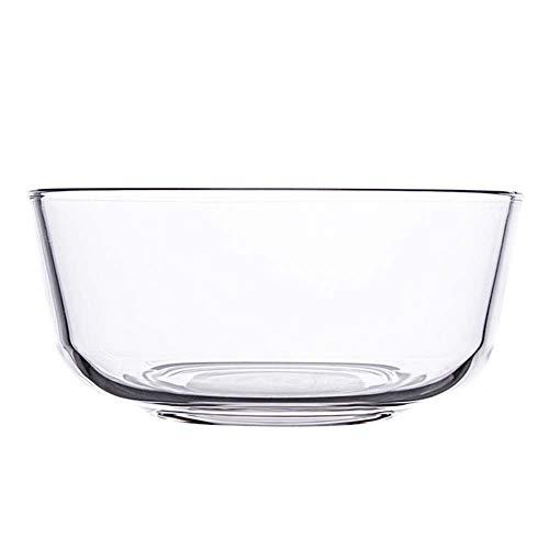 Vaisselle En Verre, Bol De Riz Domestique Bol à Soupe Bol à Assaisonnement, 11,5 Cm / 350 Ml, Transparent (2 Pièces)