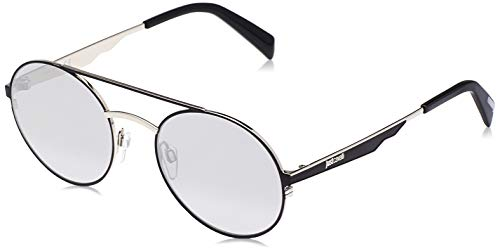 Just Cavalli JC863S Gafas de sol, Negro (Black/Other/Smoke Mirror), 54.0 Unisex Adulto