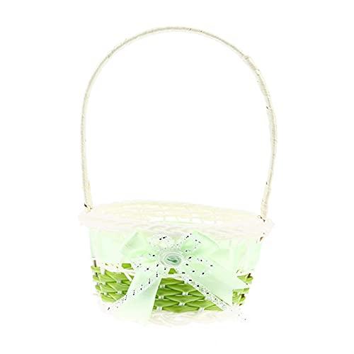 jinrun Einkaufskörbe Mini-Plastikwebster-Korb Craft Decor Simulieren Frucht Rattan Aufbewahrungsbox for Kosmetika Tee Picknickkorb Organizer Handarbeit (Color : C)