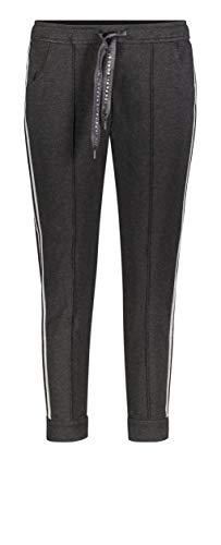 MAC Jeans Easy Comfy Galloon Pantalones Deportivos, Negro Black Melange 090M, 36...