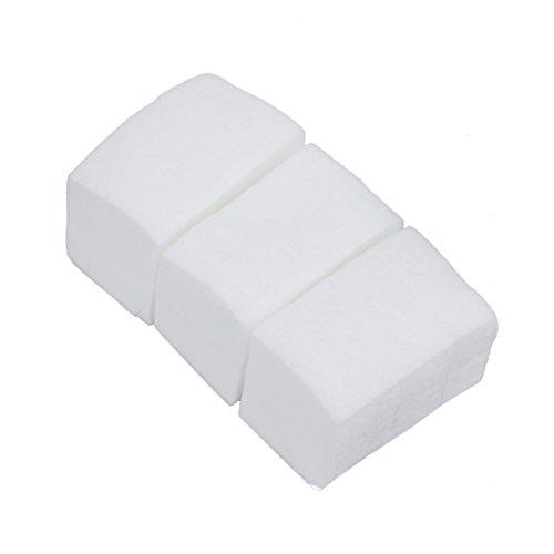 YDong 900 Algodon Celuloso Toallitas Limpiador Unas Blanco Manicura