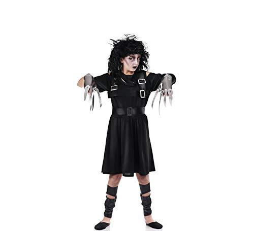 El Rey del Carnaval Disfraz de Eduardo Manostijeras para niña