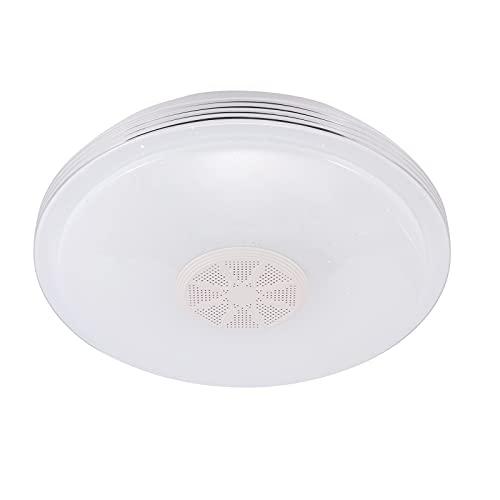 Cielo estrellado pantalla techo música Bluetooth altavoz moderno LED lámpara colgante soporte App Control/control remoto