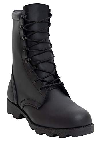 Rothco 10'' Leather Speedlace Combat Boot, Black, 12