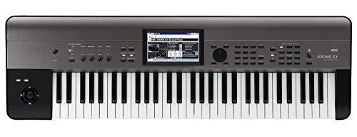 KORG キーボード シンセサイザー KROME EX クローム 61鍵 音楽制作 ステージ ライブパフォーマンス カラータッチパネル搭載