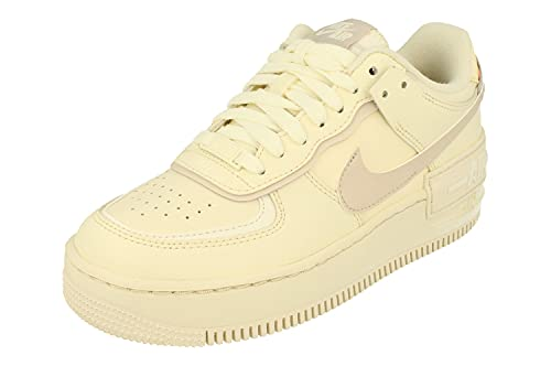 Nike Mujeres AF1 Shadow Trainers CU8591 Sneakers Zapatos (UK 7.5 US 10 EU 42, cocunut Milk Sand Sail 102)