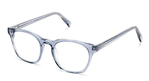 Warby Parker Felix 371 Pacific Crystal Eyeglasses Eyeglass Frames 49-19-145