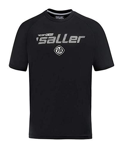 Saller VfR Aalen T-Shirt 2018/2019 360 schwarz-weiß Gr. XXXL
