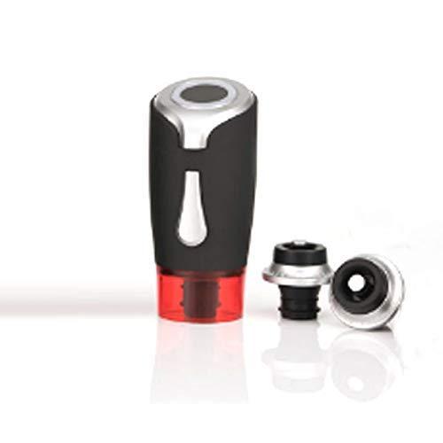 HAOKE Tapón de vino, tapón de vino eléctrico al vacío, se adapta a bomba de vacío reutilizable para mantener fresco, el mejor regalo para un amigo