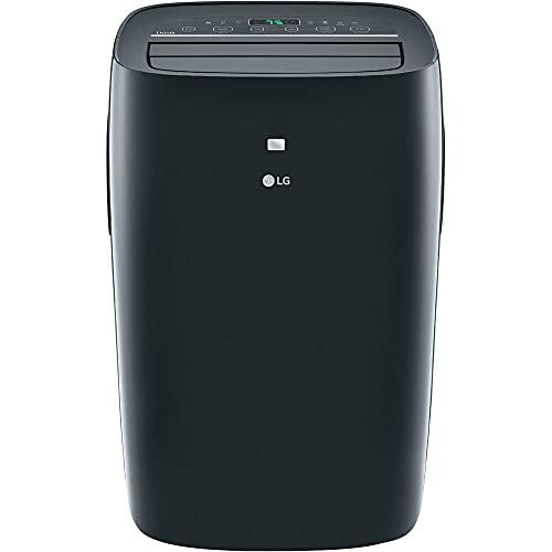LG 8,000 BTU (DOE) / 12,000 BTU (ASHRAE) Smart Portable Air Conditioner, Cools 350 Sq.Ft. (14' x 25' room size), Smartphone & Voice Control works with LG ThinQ, Amazon Alexa and Hey Google, 115V