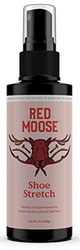 Shoe Stretch Spray - Boot & Shoe Stretcher Spray for Men & Women - Red Moose