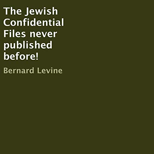 The Jewish Confidential Files Never Published Before! Titelbild
